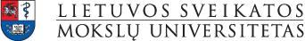 Lietuvos sveikatos mokslų universitets